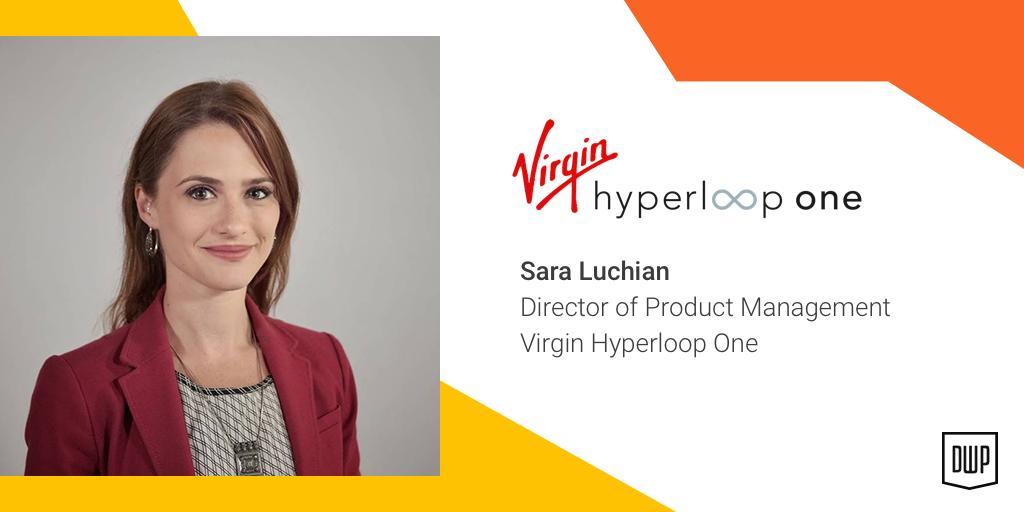 Sara Luchian - Virgin Hyperloop first passenger