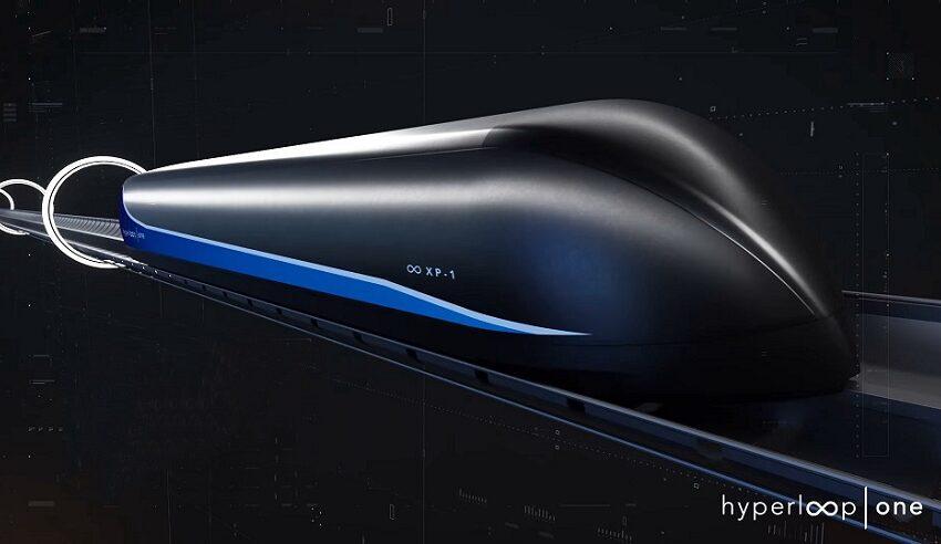 The first Virgin Hyperloop passengers just took a short but essential ride